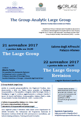 Large Group maggio 2017
